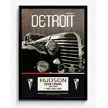 Hudson classic car posters